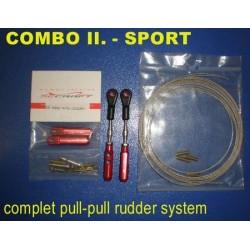 SEC.COMBO II SPORT - ZESTAW DO NAPĘDU STERU KIER. (PULL-