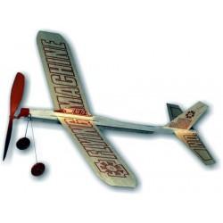 MOD. FLYING MACHINE Z NAPĘDEM GUMOWYM (NO.75)