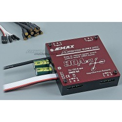 E-MAX REGULATOR MULTIROTOR 4W1 30A*4 UBEC 3A (2-4S LIPO)