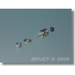 MP2761 GNIAZDO BOWD.M2 /6SZT (ALUMINIOWE)
