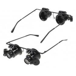 LUPA 20X - OKULARY Z LED (AG 480)