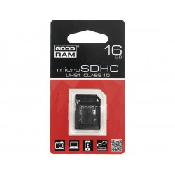 KARTA MICRO-SD HC 16GB + ADAP. SD CL10 UHS-I