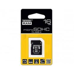 KARTA MICRO-SD HC 16GB + ADAP. SD GOODRAM