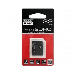 KARTA MICRO-SD HC 32GB + ADAP. SD CL10 UHS-I