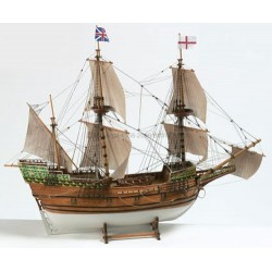 ŁÓDŹ MAYFLOWER 1:60 WERSJA KIT (BB820) BILLINGBOATS