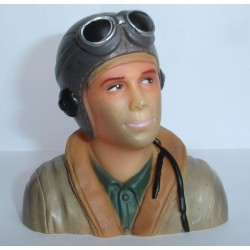 PILOT WW II 1/6 BROWN (T-MAX 01708A)