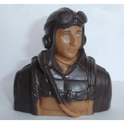 PILOT WW II 1/6 BROWN (T-MAX 02301A)