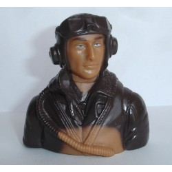 PILOT WW II 1/6 BROWN (T-MAX 02302B)