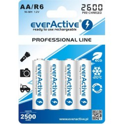 OGNIWO NIMH EVERACTIVE 1.2V/ 2600 MAH (4 SZTUKI)