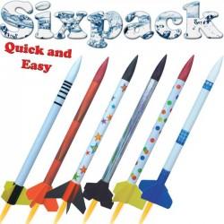 KL.RAKIETY SIXPACK QUICK AND EASY (2501 ) ZESTAW 6 SZT.