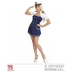 KOSTIUM CAPTAIN GIRL /S/ NAVY (02261)
