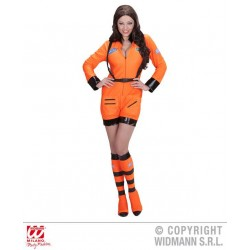 KOSTIUM ASTRONAUT ORANGE LADY /M/ (11032)