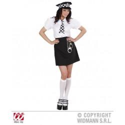 KOSTIUM BRITISH POLICE GIRL /S/ (77391)
