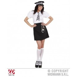 KOSTIUM BRITISH POLICE GIRL /L/ (77393)