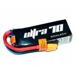 DUALSKY 11.1V/ 1600MAH 70C/12C ULTRA