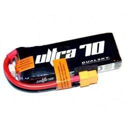 DUALSKY 7.4V/1600MAH 70C/12C ULTRA