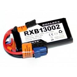 DUALSKY 7.4V/1300MAH RXB 20C/ 2C VOLTAGE METER