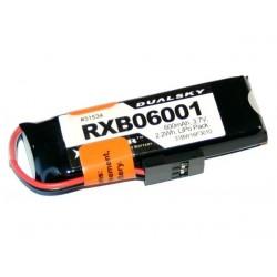 DUALSKY 3.7V/ 600MAH RXB 20C/ 2C DLG/HLG