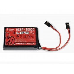GRAUPNER/SJ Li-PO 3,8V/6000MAH (BT8082)
