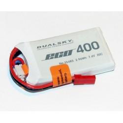 DUALSKY 7.4V/ 400MAH 30C ECO