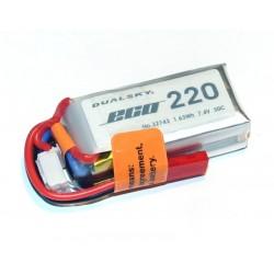 DUALSKY 7.4V/ 220MAH 30C ECO