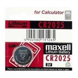 BATERIA CR2025 MAXELL MAXELL