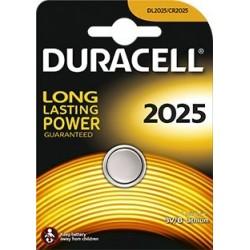 BATERIA DURACELL CR2025 3 V