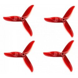 ŚMIGŁA DAL CYCLONE T5045 HIGH-END -RED -TRI-BLADE - 5X4,5X3 - 2XCW/2XCCW DALPRO