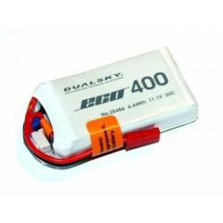 DUALSKY 11.1V/ 400MAH 30C/5C