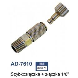 """ADLER SZYBKOZŁĄCZKA 1/8"""" (AD-7610)"""