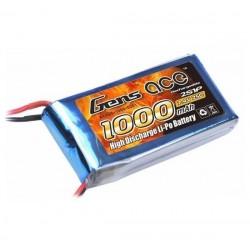GENS ACE 7.4V/1000 MAH 25C
