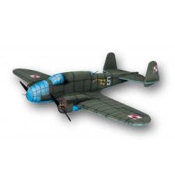 ESA AIRCOMBAT P-37 B ŁOŚ (BIAŁY) NA POLSKIM NIEBIE