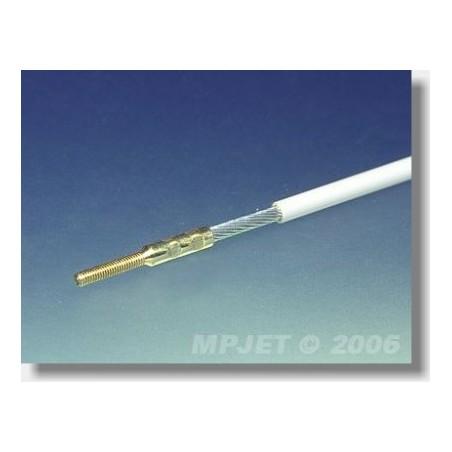 MP3322G BOWDEN 1,5*500mm/M2 (STALOWA LINKA PLECIONA) MP-JET