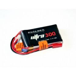 DUALSKY 11.1V/ 300MAH 50C/5C ULTRA