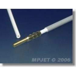 MP3204G BOWDEN 4/3*1000MM/M3 (RYFLOWANY)