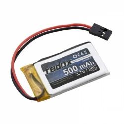 REDOX LI-POL 3,7V/ 500MAH 20C JR