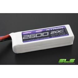 SLS 7,4V/2600MAH RTX 20C/40C XTRON