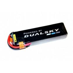 DUALSKY 11.1V/ 6400MAH 45C/5C HED