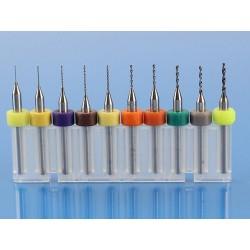 ZESTAW WIERTEŁ DO PCB 0,3-1,2mm