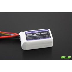 SLS 11,1V/ 800MAH 40C/80C XTRON