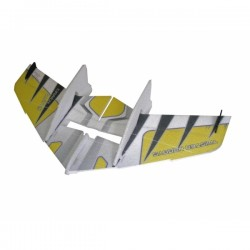 RC FACTORY CRACK WING YELLOW (F04)