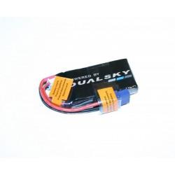 DUALSKY 7.4V/ 600MAH 120C/12C ULTRA