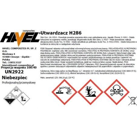 ŻYWICA L285 500G + UTWARDZACZ H286/200G