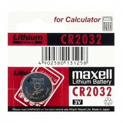 BATERIA MAXELL CR2032 ( 1 sztuka )