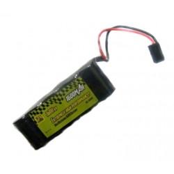 GPX NiMH 6V/1600 mAh płaski -konektor JR