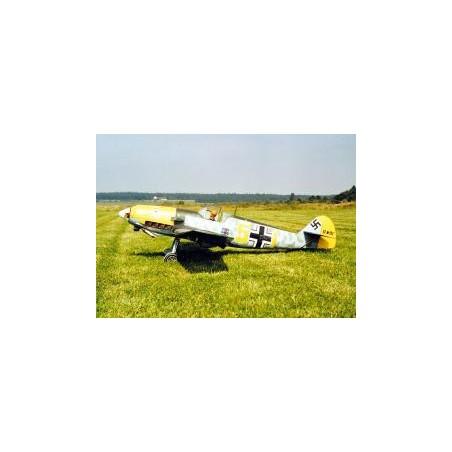 PLANY MESSERSCHMITT BF109E-4 (033)
