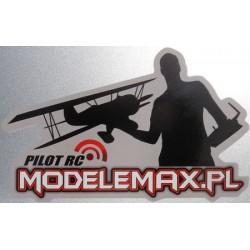 MODELEMAX PILOT RC - NAKLEJKA NA SAMOCHÓD
