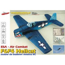 ESA AIRCOMBAT HELLCAT F6F4 (BIAŁY) NA POLSKIM NIEBIE
