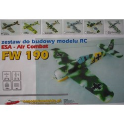 ESA AIRCOMBAT FW 190 (BIAŁY) NA POLSKIM NIEBIE